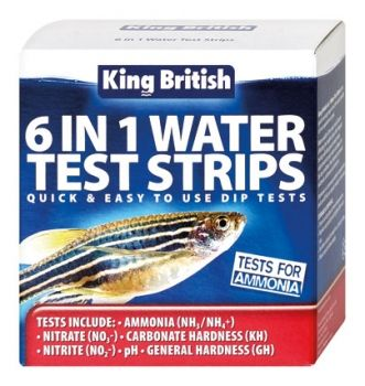 King British 6 in 1 Test Strips