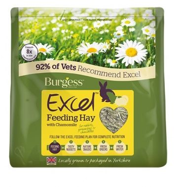 Burgess Excel Feeding Hay - With Chamomile 500g