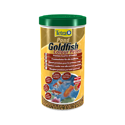Pond Goldfish Colour Pellets 1L/300g