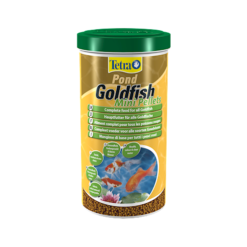 Tetra Pond Goldfish Mini Pellets 1L/350g
